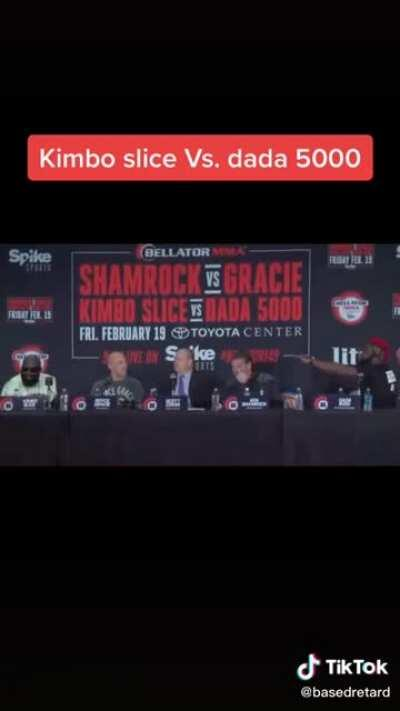 Kimbo Slice and Dada 5000 discuss their friendship
