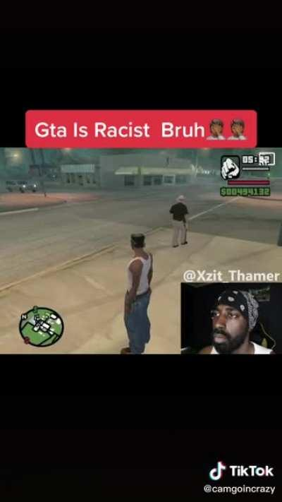 Racism in Grand Theft Auto😞