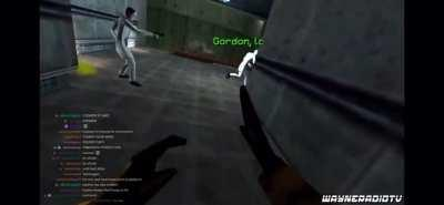 Gordon look out! (The video is from the