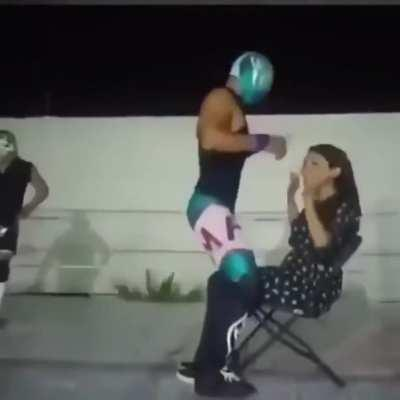 What could go wrong giving a lap dance?