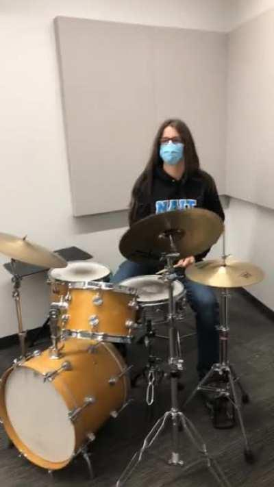 Sometimes the drums are too much
