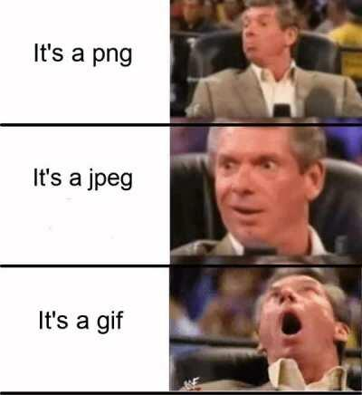 GIF meme = stonks