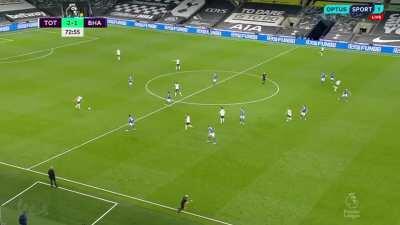 Bale's goal against Brighton (Celine'd)