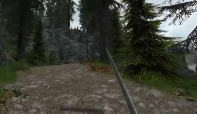 VR Skyrim w/ Mods