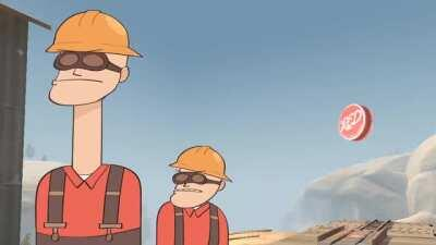 The engineer is engi-here