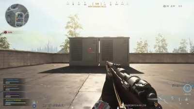 Saw an awesome glory hole sniper shot on here earlier, mine is kinda similar