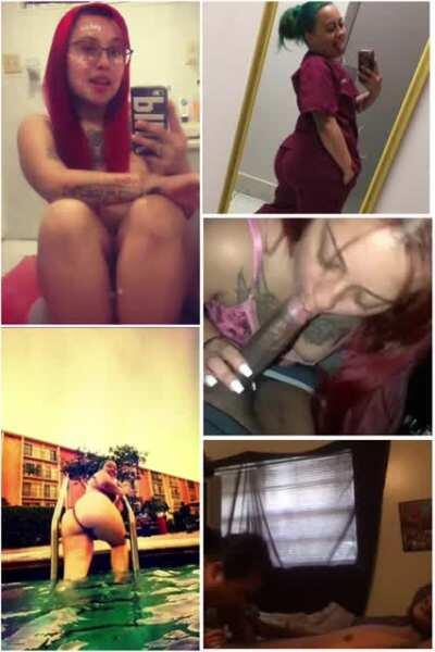 Miami Hialeah ig thot latinaoverdose doing what she does best everyday