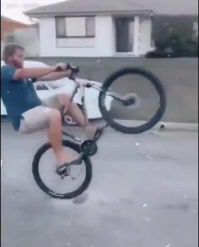That twirl tho