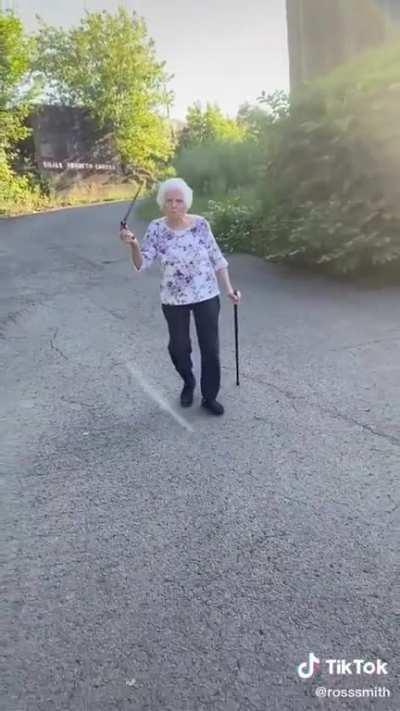 Don't fuckwit old people