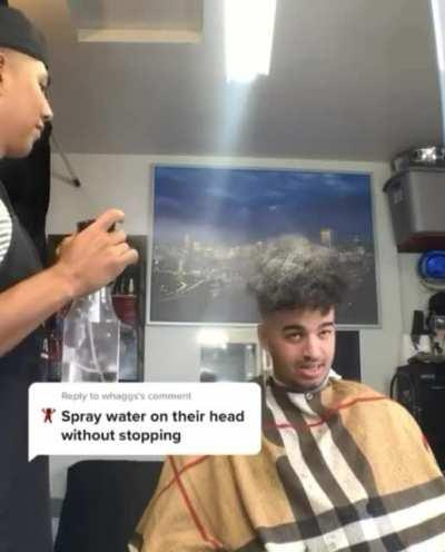 Barber prank customer part 2