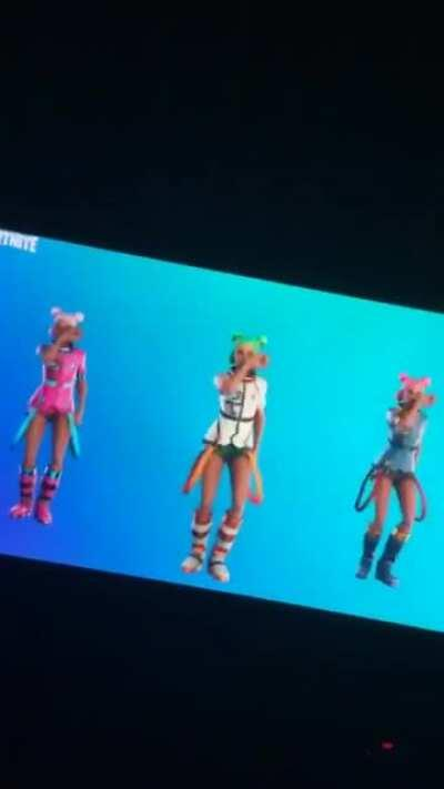 the tormented screams of an individual who discovered the renegade was added to fortnite
