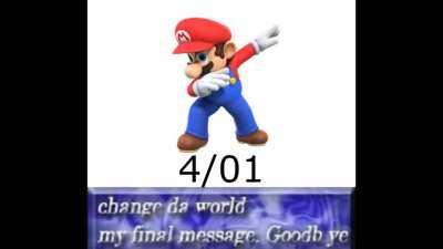 Goodbye Mario
