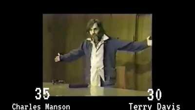 A tribute I made to Terry Davis where he has a dance off with Charles Manson