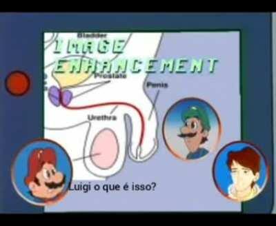 O que é isso Luigi?