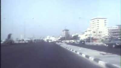 Abu Dhabi Corniche Drive 1978 !! Enjoy