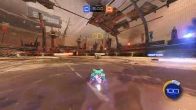 Fastest goal ever? .07 sec