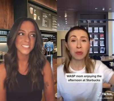 WASP mom comes into Starbucks and Taelynn isn't having it
