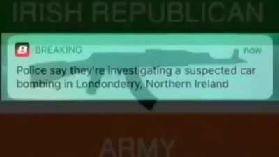 Any hope of this show happening is dead, post IRA propaganda