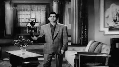 Fan of this scene. Dileep kumar is one heck of a handsome man and probably the greatest actor ever in Bollywood.