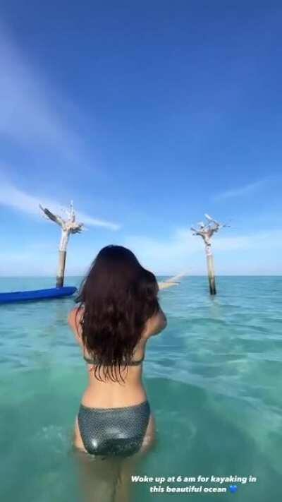 Sakshi Malik in bikini