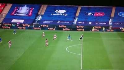 Fake picture of Emi catching the ball circulated by Chelsea.... Here is the video from BBC