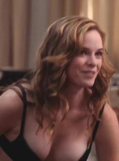 Necessary Roughness S02E16 Danielle Panabaker as Juliette Pittman (Lingerie Scene) [cropped, sharpen, brightened, color corrected] 1080p