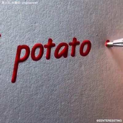 I potato you.