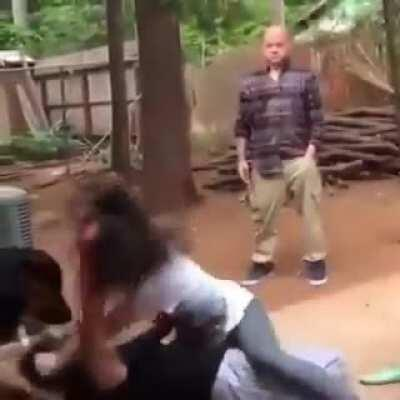 HMFT after I got knocked out by my lil sis