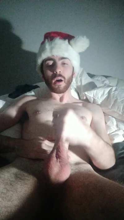 Here cums Santa Claus