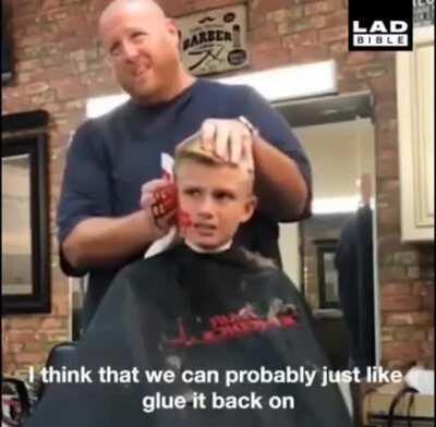 Nice going Barber!