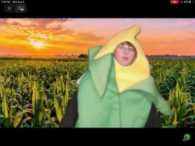 Come on down and try some corn, or we will sacrifice your new born