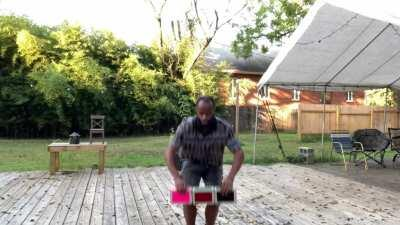 Box Trick: Under the leg, Behind the back to heel