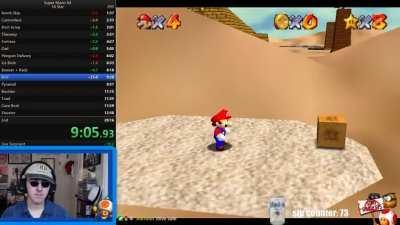 Cake_Hoarder playing Mario 64