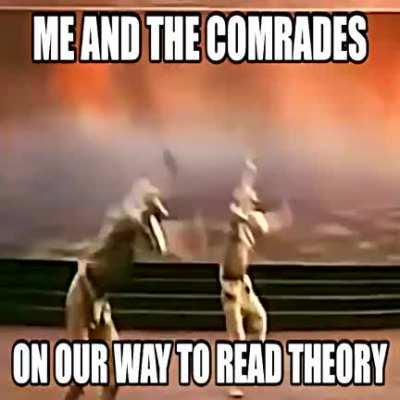 this is a high iq joke, anarchist wont get it unfortunately😎