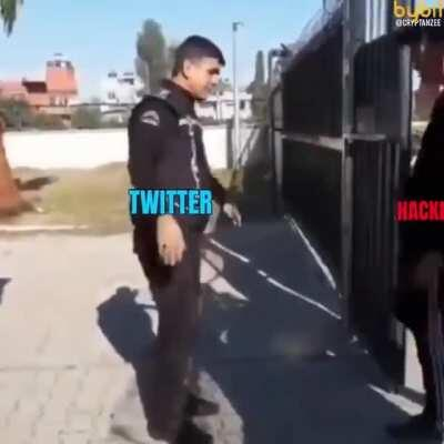 Twitter security be like