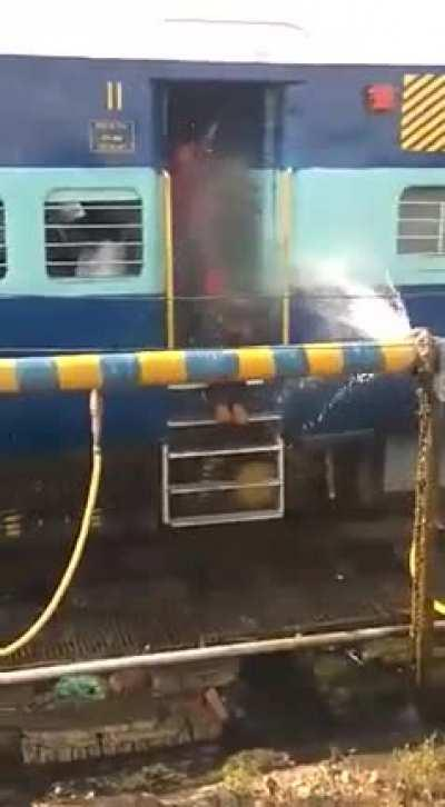 WCGW taking the train home from work?