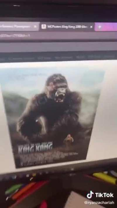 When buying a movie poster on amazon goes tongue