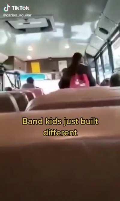 Band kids built different