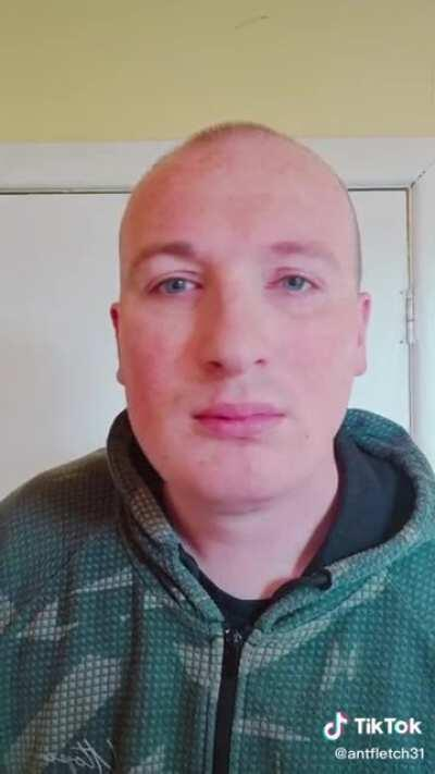 POV: you're being sniffed by a creepy man with a receding hair line.