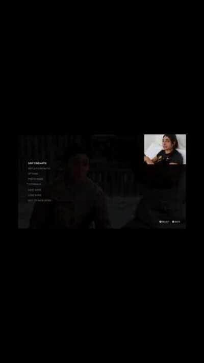 [TLOU2] [Video] Dina IRL sees herself ingame