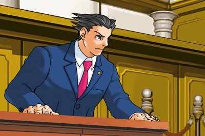 Phoenix Wright is here to save the day