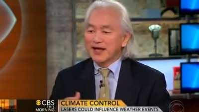 I love when scientists admit things they should not (Michio Kaku - Controlling The Weather)