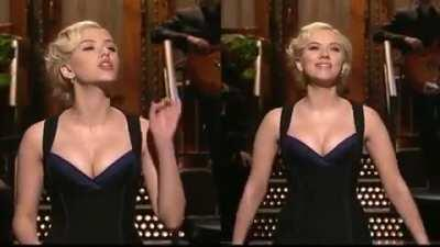 Scarlett Johansson's tits.