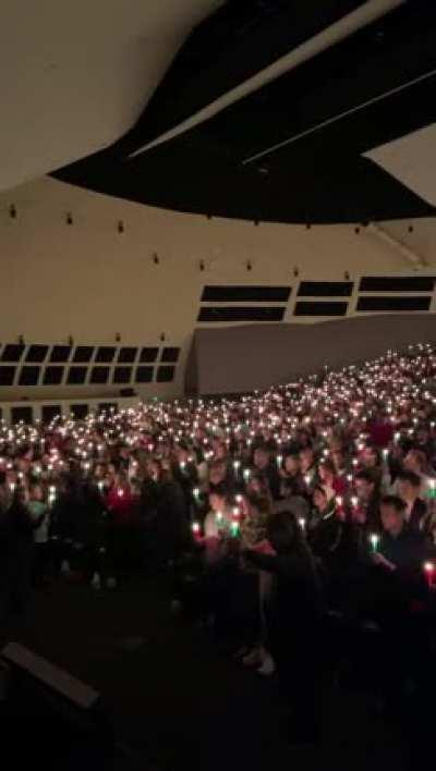 Legacy Church, Albuquerque, NM breaking COVID restrictions for Xmas Eve Mass