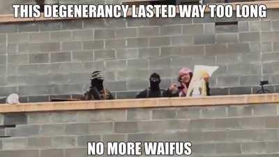 NO MORE WAIFUS POGGERS