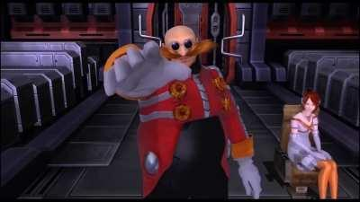 Alfred as Eggman is always the best character in the sonic dubs
