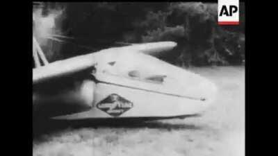 Inflatable Airplane 1957,