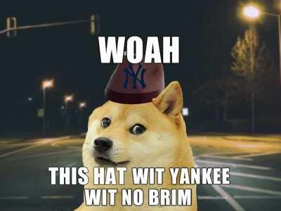 The search for le yankee wit no brim