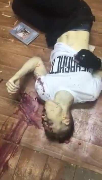 Video of Vladislav Roslyakov's dead body