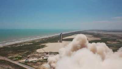 SpaceX провела лётные испытания SN6